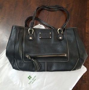 Nice black leather Kate Spade handbag